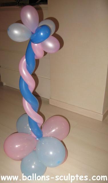 torsade en ballons
