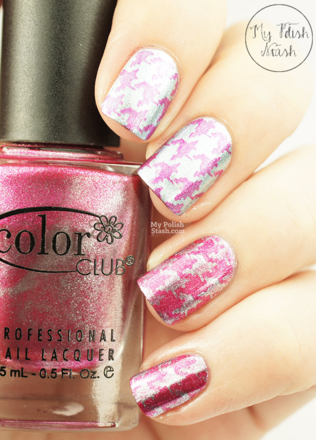 metallic pink blue Color Club