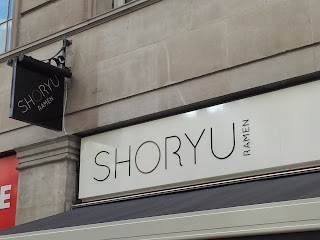 Exterior of Shoryu Ramen, 9 Lower Regent Street, London SW1Y 4LR