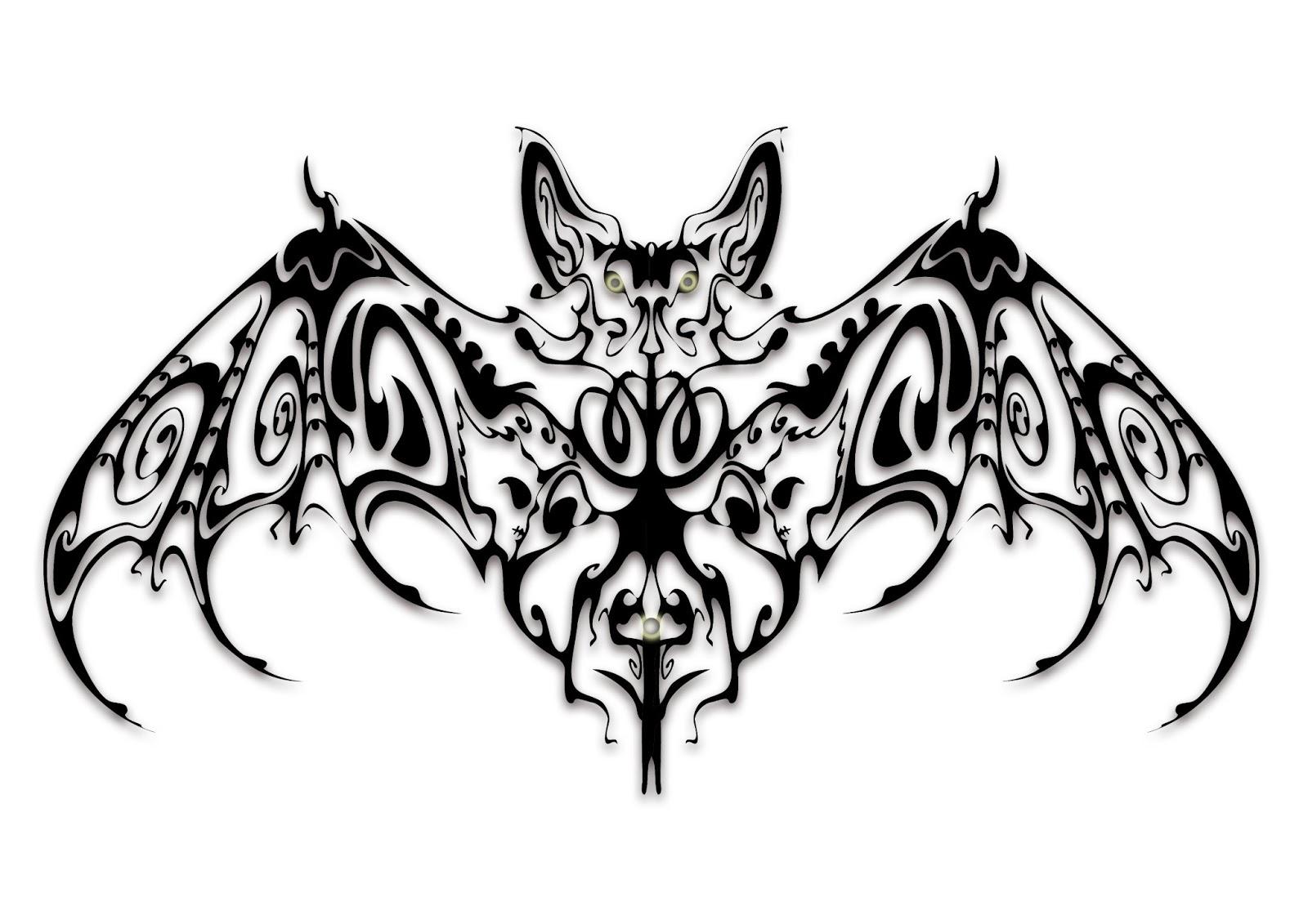 10 cool bat tattoo design gallery tattoo design ideas for Cool tattoo stencils