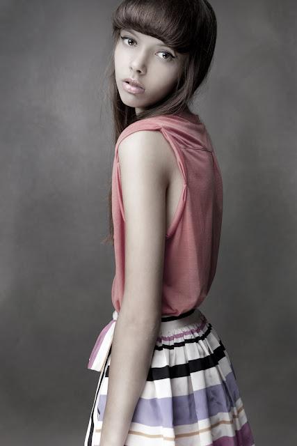 New Face Alina Nakopiya: test shoot