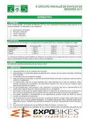 Normativa Circuito Andaluz de Menores de Duatlón
