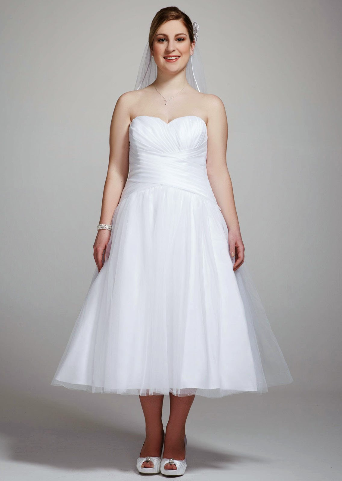 Plus Size Casual Wedding Dresses Ideas Photos HD