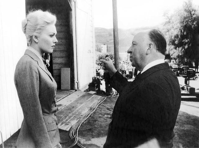 Hitchcock siempre elegía actrices elegantes