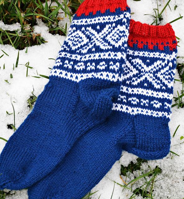 Måtte bli et par mariussokker i sokkerprosjektet 12par sokker til jul