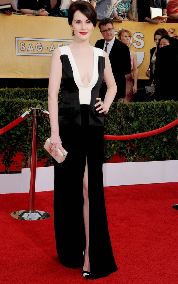 Michelle Dockery sag awards 2014