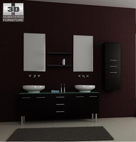 Banyo+mobilya+dekorasyonu Banyo Dekorasyonuna Özel Tasarımlar Eklendi