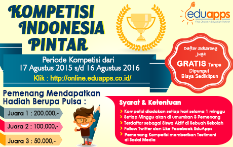 Eduapps.co.id - Kompetisi Indonesia Pintar