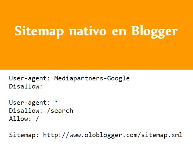 Sitemap XML para Blogger
