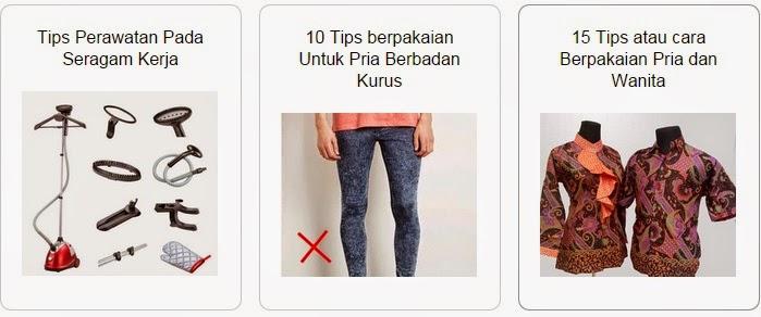 Tips Berpakaian