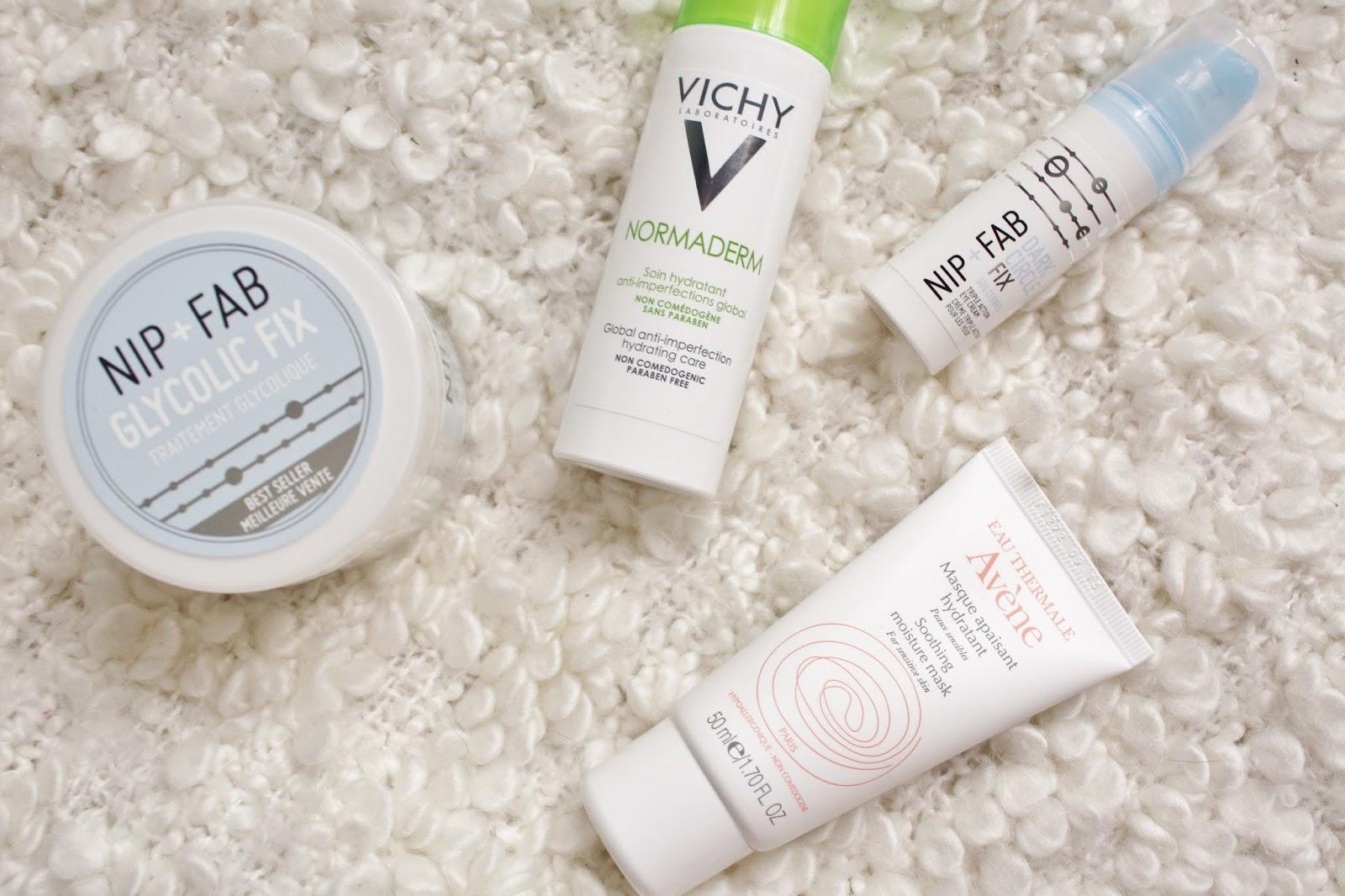 Autumn Skincare Additions - Nip + Fab, Vichy and Avene