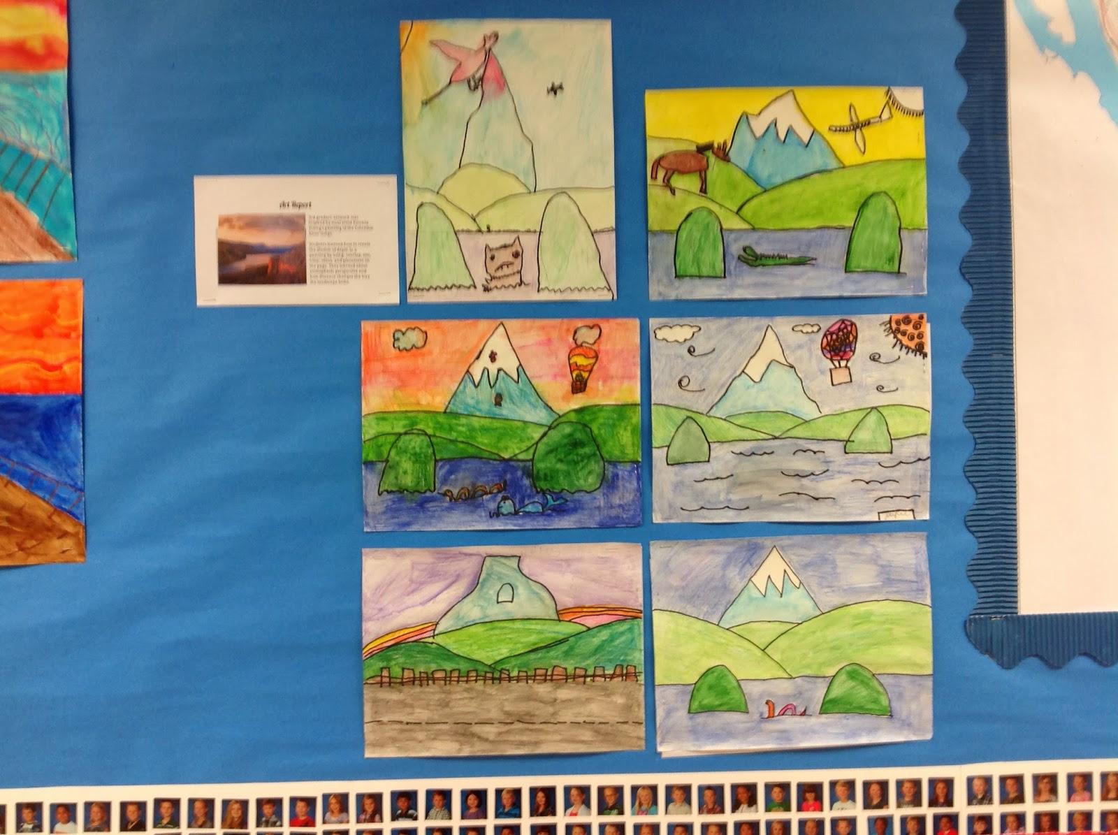 Art Lessons : Nicole caulfield fine art some elementary lessons