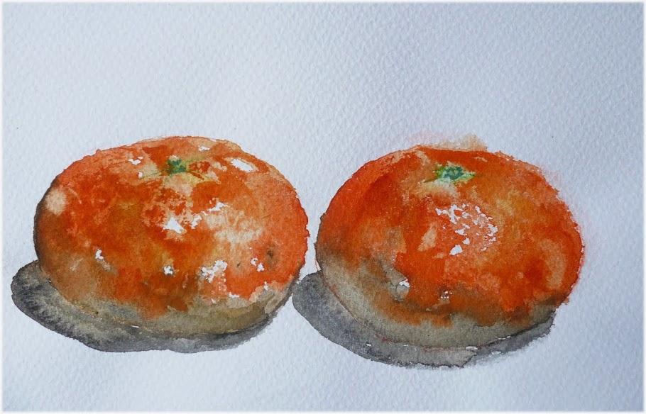 Mandarinas, aunque no lo creas