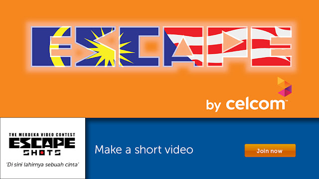 Contest Celcom Escape Merdeka Video Contest