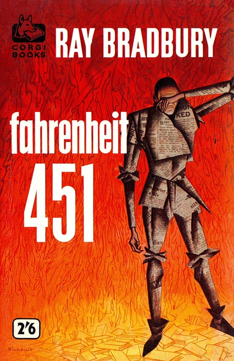 an analysis of the theme in ray bradburys science fiction novel fahrenheit One must assume that ray bradbury, author of fahrenheit 451 fahrenheit 451 is a science fiction novel that 8 responses to fahrenheit 451 (5 paragraph draft.