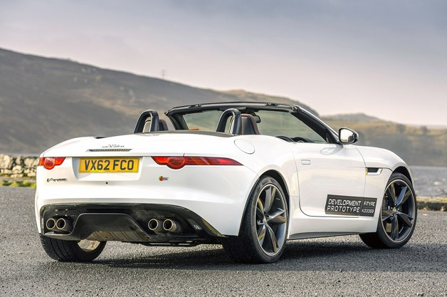 new jaguar f type