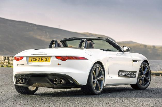 new jaguar f type