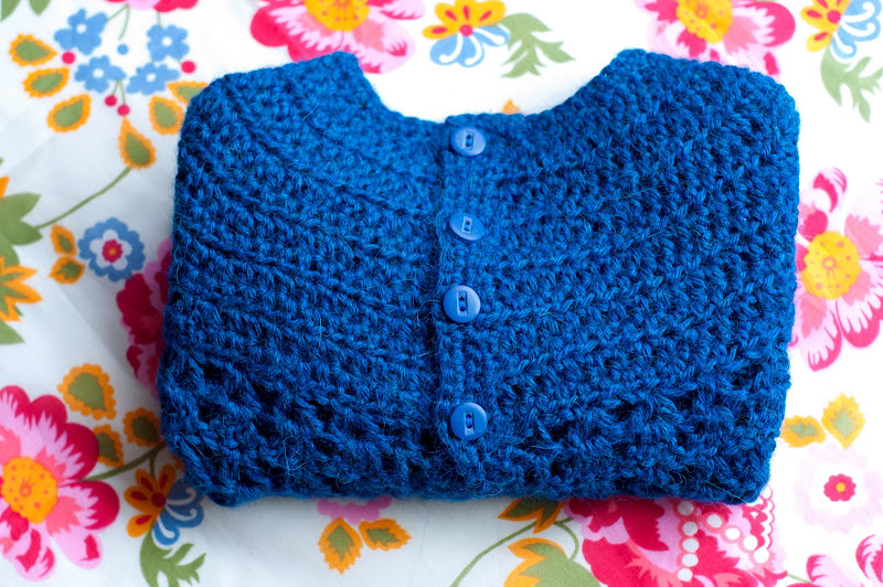 Picot And Lace Sweater
