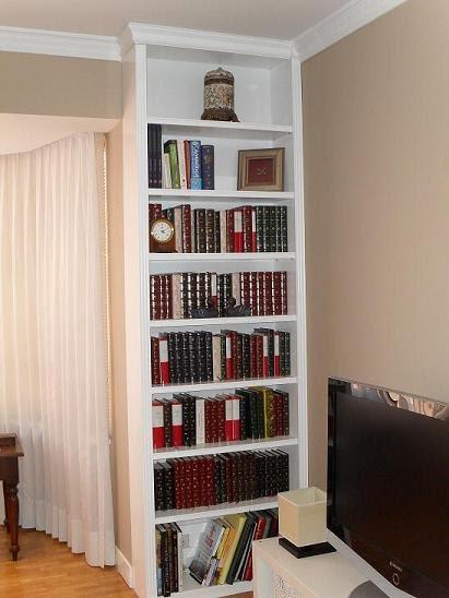 Librerias a medida madrid muebles librerias lacadas de calidad librerias a medida - Librerias a medida en madrid ...