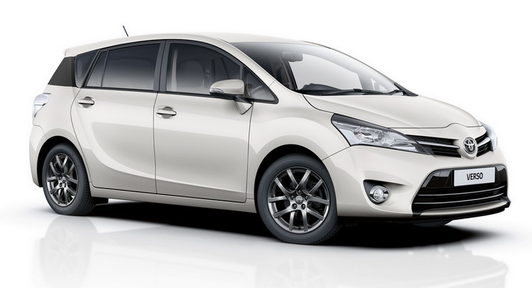 Toyota is adding one more trim level to the UK range of the Verso MPV ...