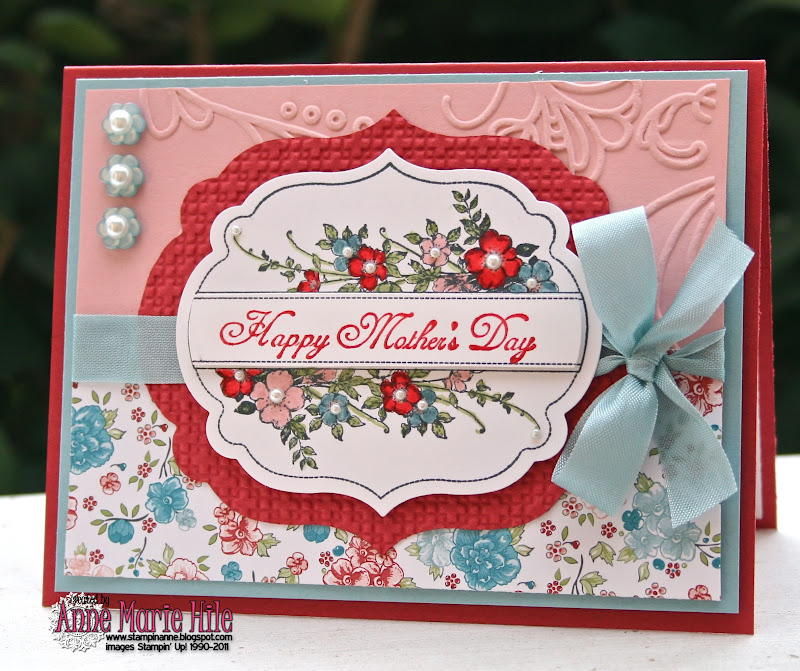 Stampin' Anne: A Mother's Day Recipe for Our Creative Corner
