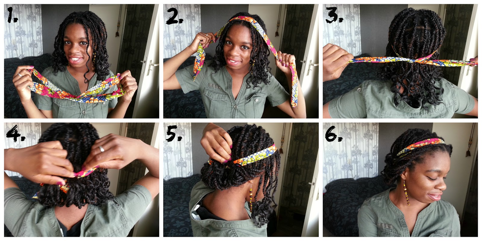 SunFroLove 5 Ways To Style Headbands And Scarfs Box Braids Version