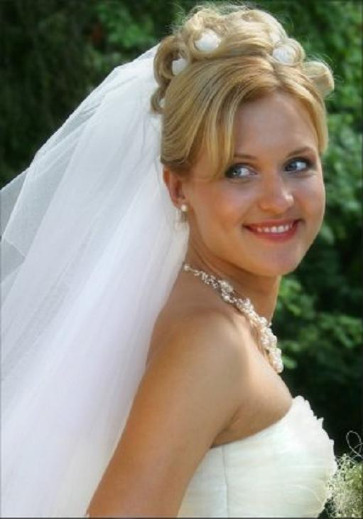 Long Wedding Hairstyles With Veil 2jpg