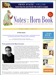 aug11notes August Notes from the Horn Book