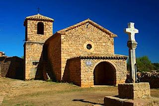 Ermita de San Gregorio en Alquézar (Somontano, Huesca, Aragón, España)