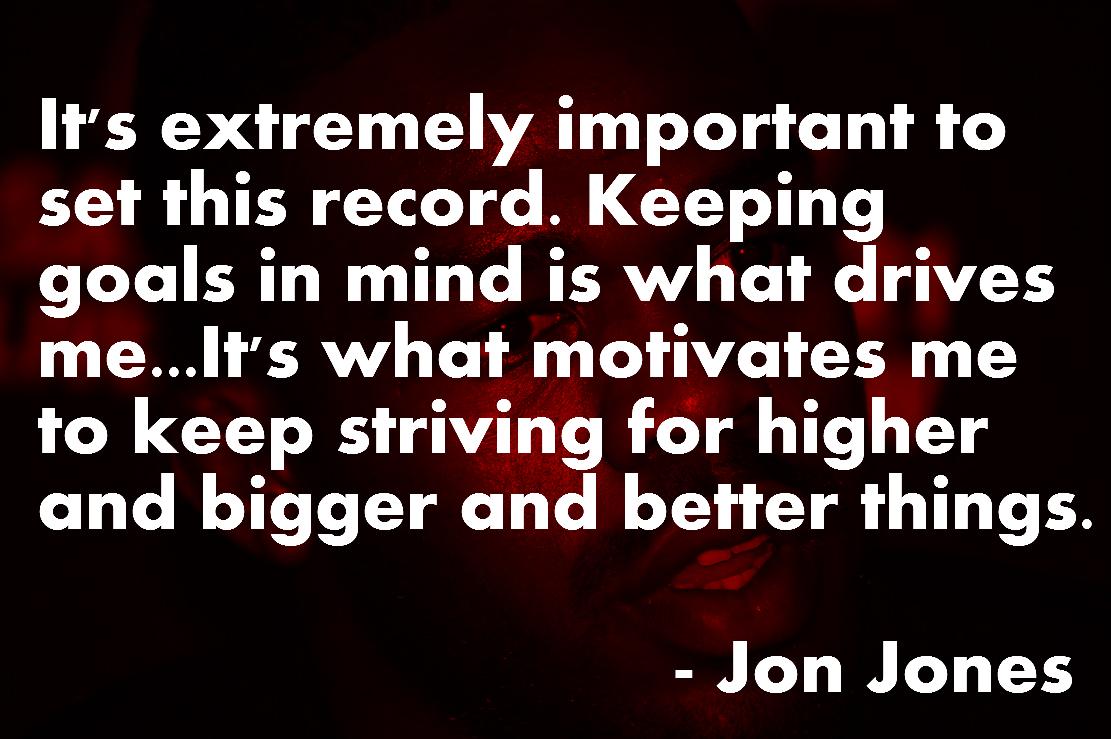 UFC Jon Jones Quotes