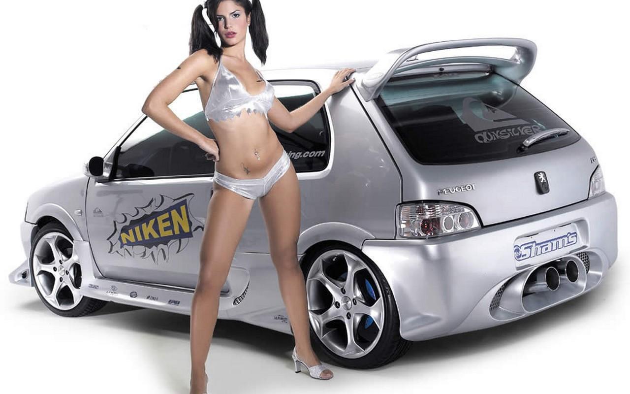 mehrapensmin: cars and girls wallpaper