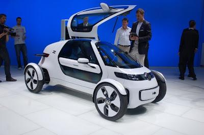 Frankfurt Auto Show 2011 Volkswagen NILS