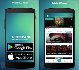 Social App of the Month - The Truth Debate