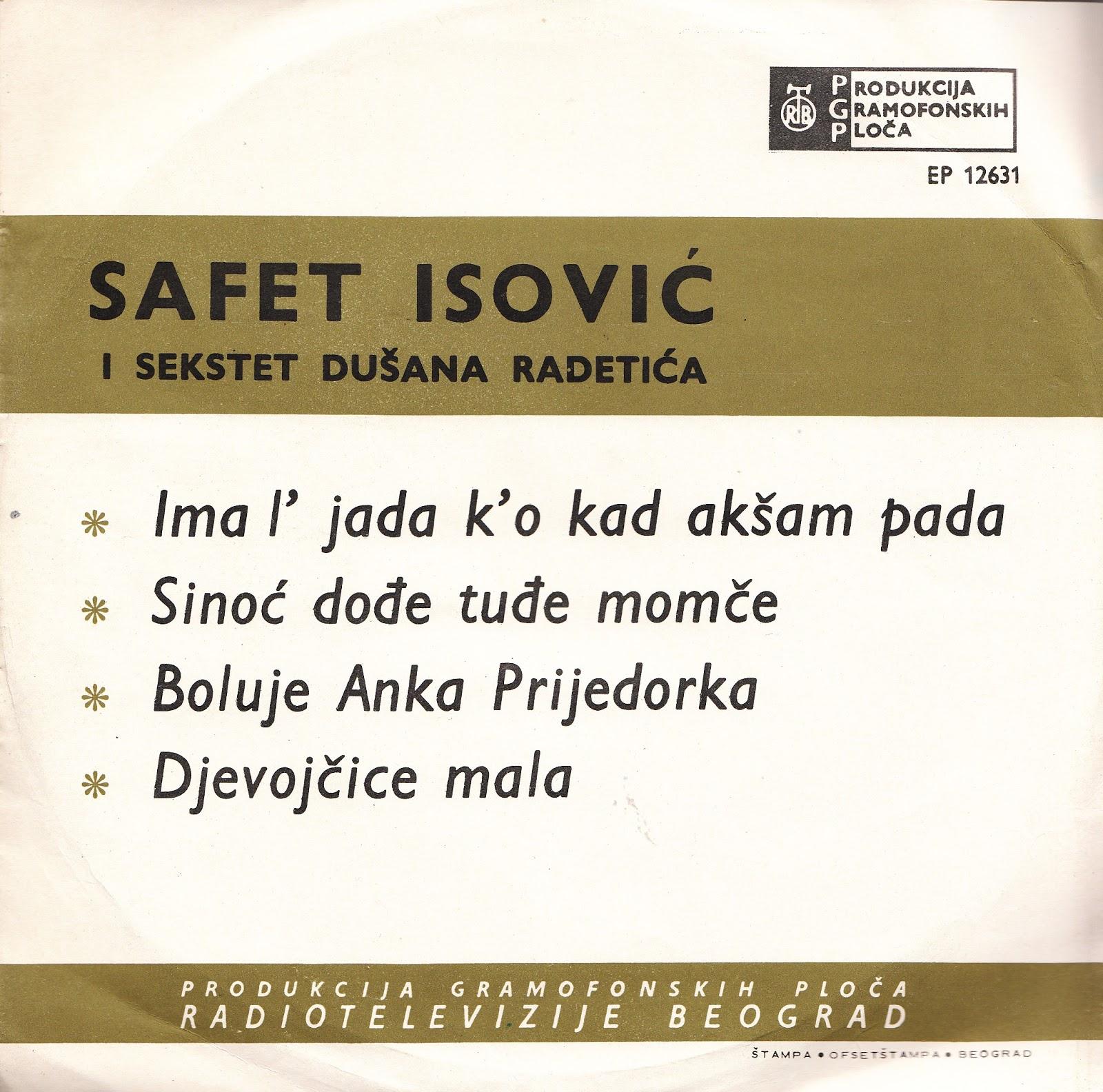 Safet Isović* Safet·I Zaim Imamović* Zaim - Hej, Šoferi