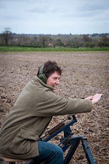 firing the clay, at a clay pigeon shoot