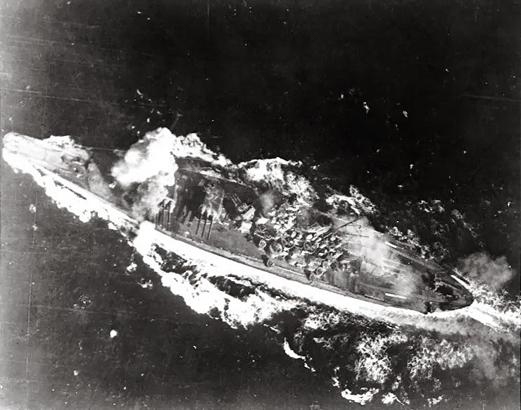 Leyte_battle_Yamato
