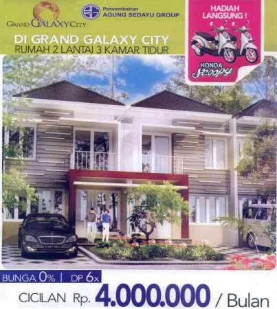 Rumah dan Rukan di Kawasan Elit Grand Galaxy City Bekasi MD195