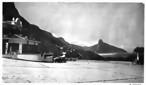 Tour de praias do Rio de Janeiro - Estrada do Joá em 1944