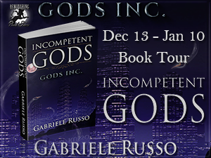 Incompetent Gods Book Tour