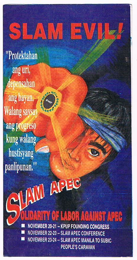Slam Evil, Slam Apec