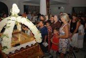 Με λαμπρότητα εψάλλησαν και φέτος τα Εγκώμια της Υπεραγίας Θεοτόκου εις τον Ι.Ν. του Αγ. Αντωνίου