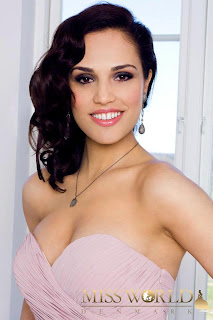 Miss World Denmark 2012 Arbenita Ferizi