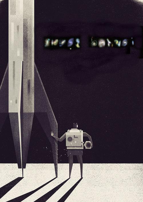 ikusi batusi en un cartel de ciencia ficcion