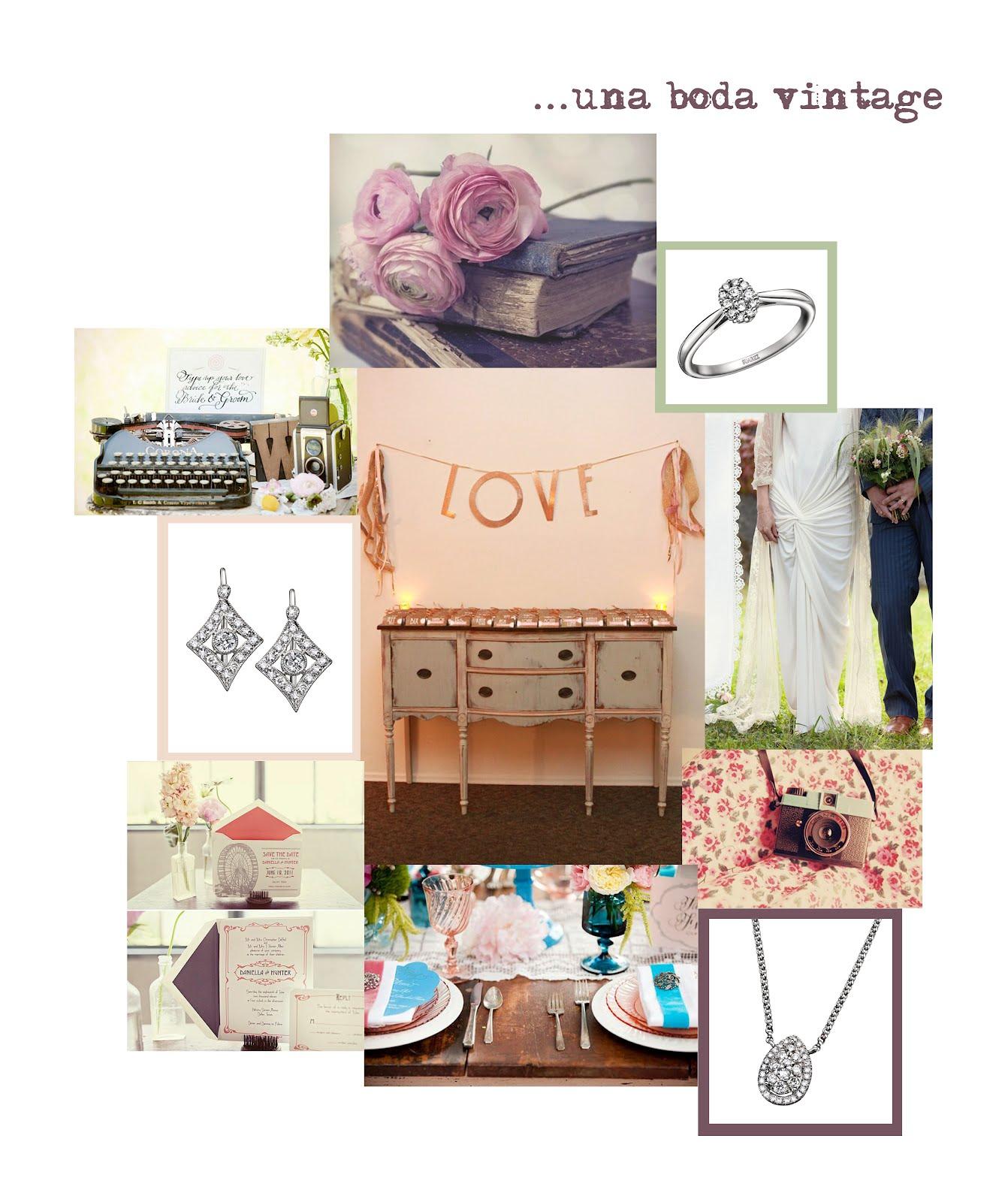 Joyeria suarez una boda vintage for Boda vintage