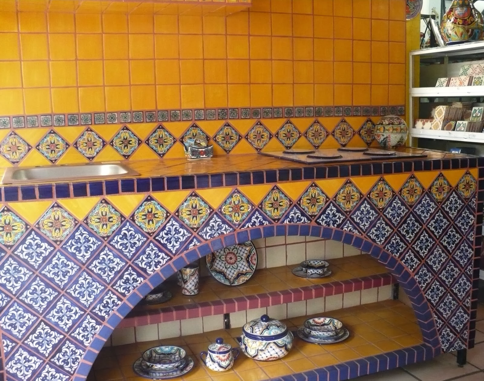 Vallarta shopping directory interior decor furniture for Azulejo de talavera mexico