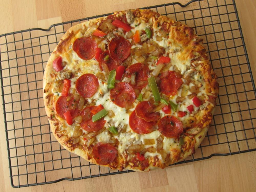 Digiorno Frozen Pizza frozen friday: digiorno - pizzeria supreme speciale pizza | brand