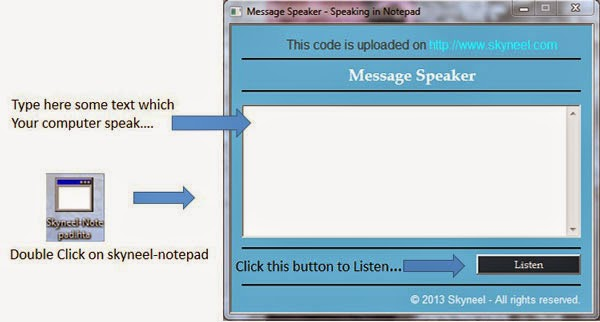 Report Software Speaking Notepad 5.2