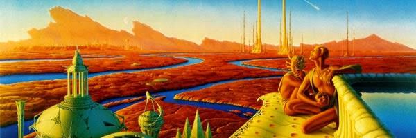 """Poster inspirado en las """"Crónicas marcianas"""", de Ray Bradbury"""