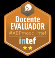 """Emblema Inteef """"Docente Evaluador"""""""