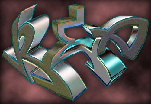 Wiki Graffiti: Graffiti 3d